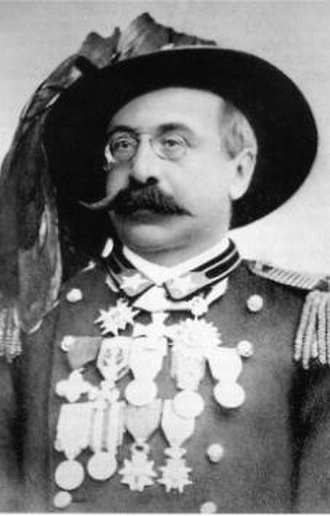First Italo-Ethiopian War - Oreste Baratieri