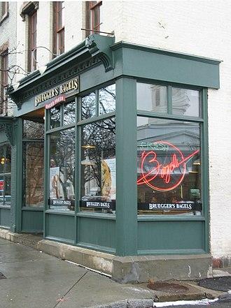 Bruegger's - The original Bruegger's in Troy, New York