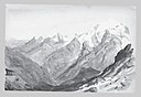 Ortler Spitz from Summit of Stelvio Pass (from Switzerland 1869 Sketchbook) MET 50.130.147bb.jpg