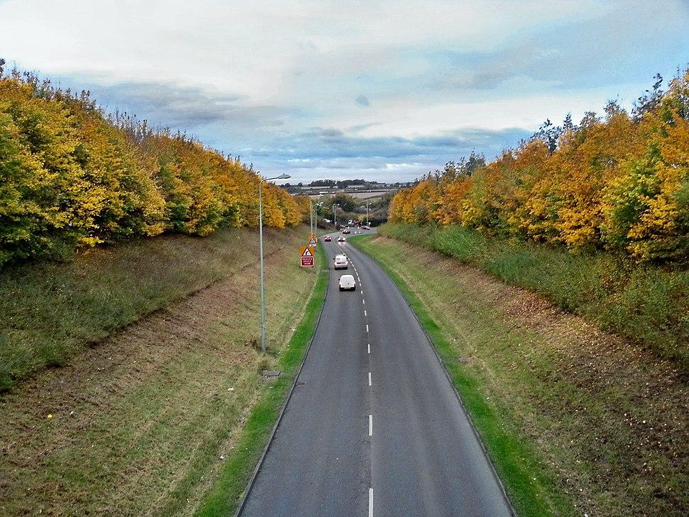 Ortwell Road, Bury St Edmunds, 25 Oct, 2012