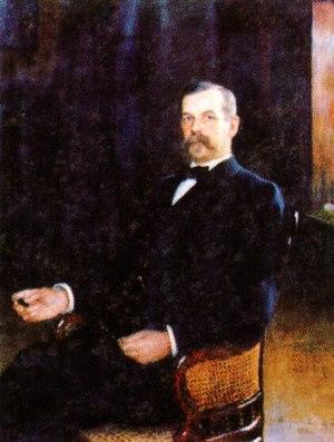 Oskar Backlund - Oskar Backlund in 1900