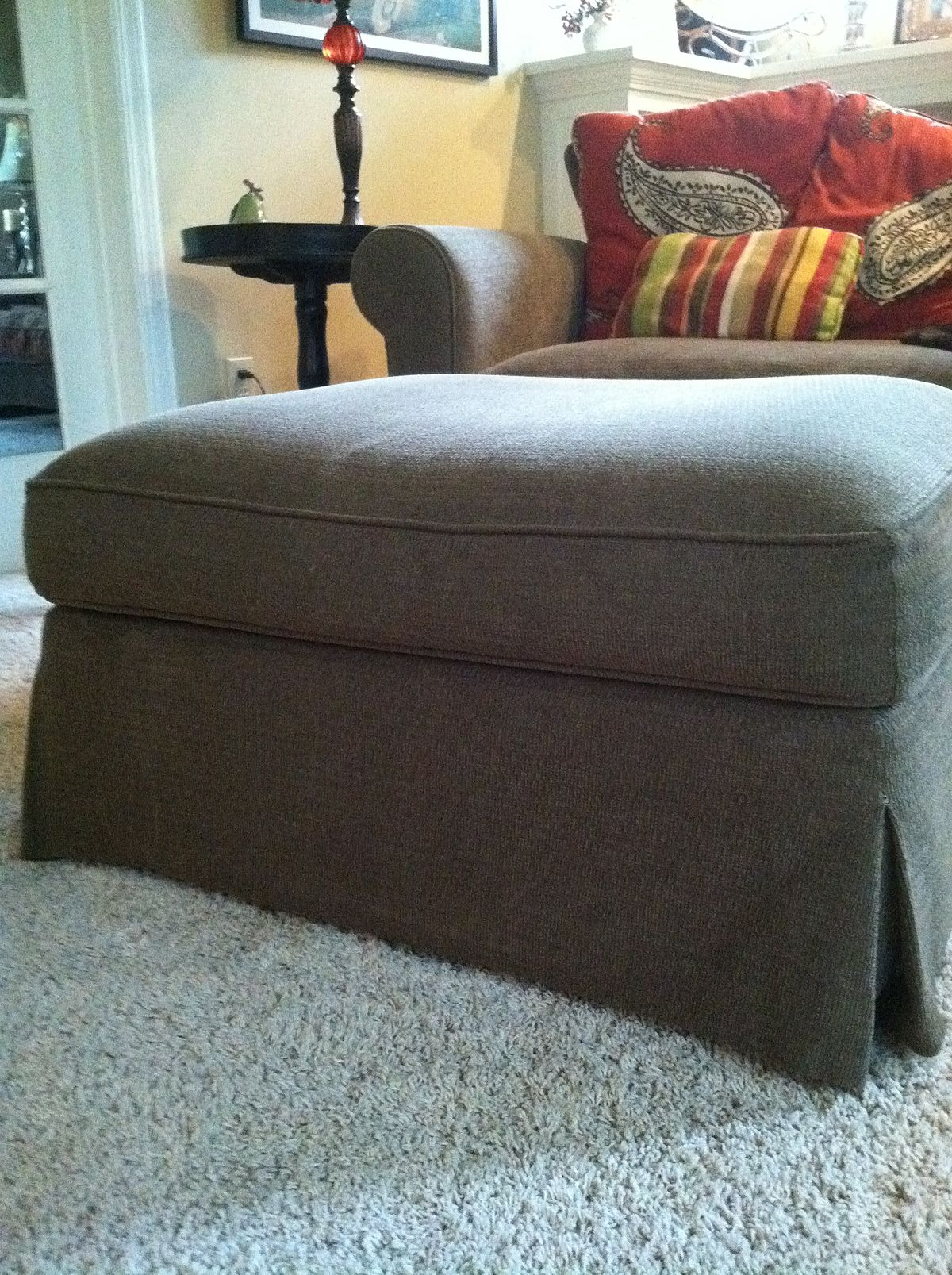 footstool living room ottoman furniture 10684
