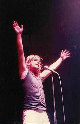 Ozzy Osbourne - Osbourne performing in Cardiff, 1981