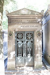 Tomb of Baurens, Baudin and Collet
