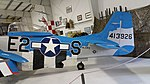 P-51D tail view at Olympic Flight Museum.jpg