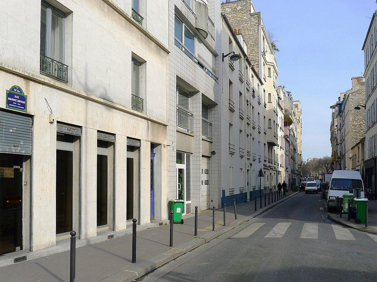 Rue Didot  Paris Villa Jamot