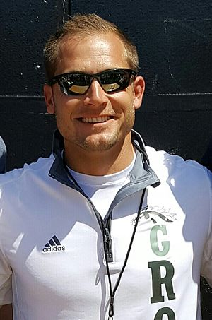 P. J. Fleck - Fleck at the 2016 Western Michigan spring football game