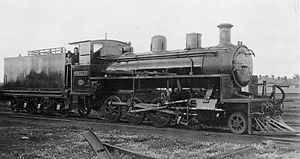 WAGR Q class - PWD locomotive Nornalup (later Q63), ca 1928