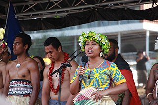 Pacific Climate Warriors-image of 3 Polynesians