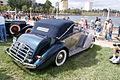 Packard One Twenty Drophead Convertible 1937 RSideRear LakeMirrorClassic 17Oct09 (14598613954).jpg