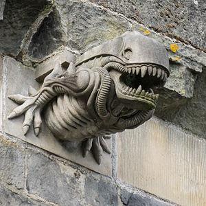 "Paisley Abbey - Gargoyle 10 ""Alien"""