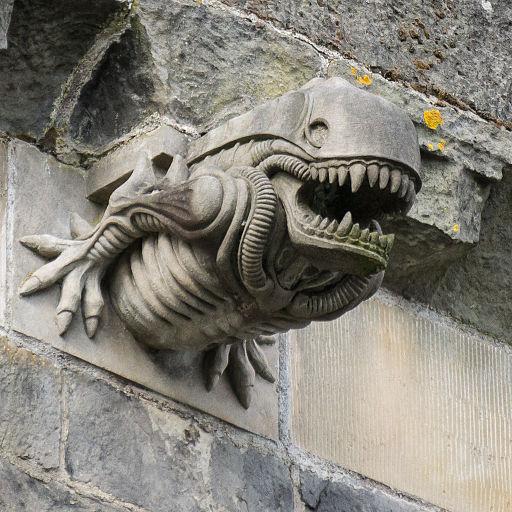Paisley Abbey gargoyle 10