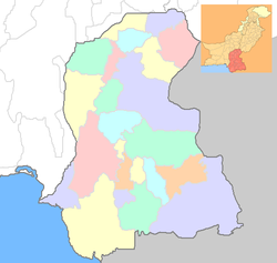 खैरपुर is located in Sindh