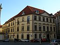 Palác Trauttmannsdorfský (Staré Město), Praha 1, Husova, Mariánské nám., Seminářská 25, Staré Město.JPG