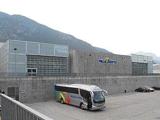 Aquila Basket Trento - The PalaTrento, home venue of the club