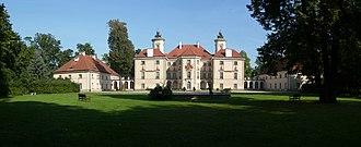Palace in Otwock Wielki - Image: Palac otwock wielki