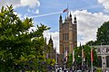 Palace of Westminster - flag 34807134984.jpg