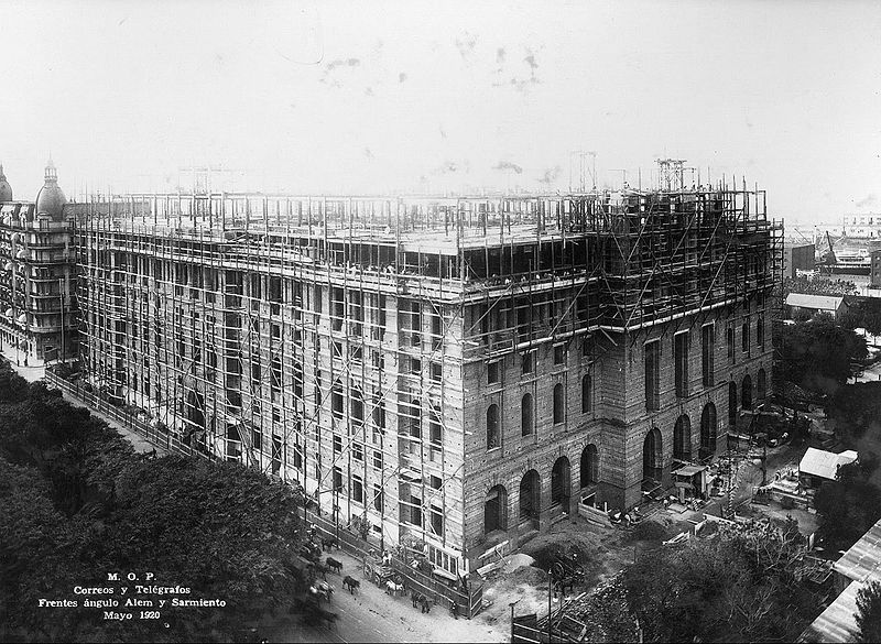 Archivo:Palacio de Correos (Buenos Aires, 1920).jpg