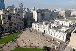 Plaza de la Constitución (Santiago de Chile) - Plaza de la Constitución.