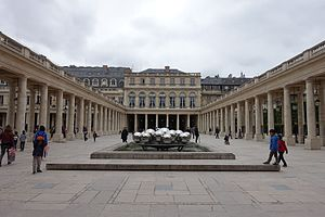 Ministry of Culture (France) - The Palais-Royal in Paris houses the ministry's head office as well as the Constitutional Council