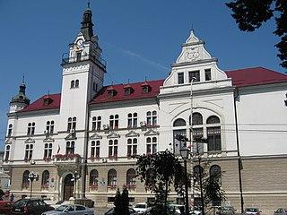Suceava City in Suceava County, Romania