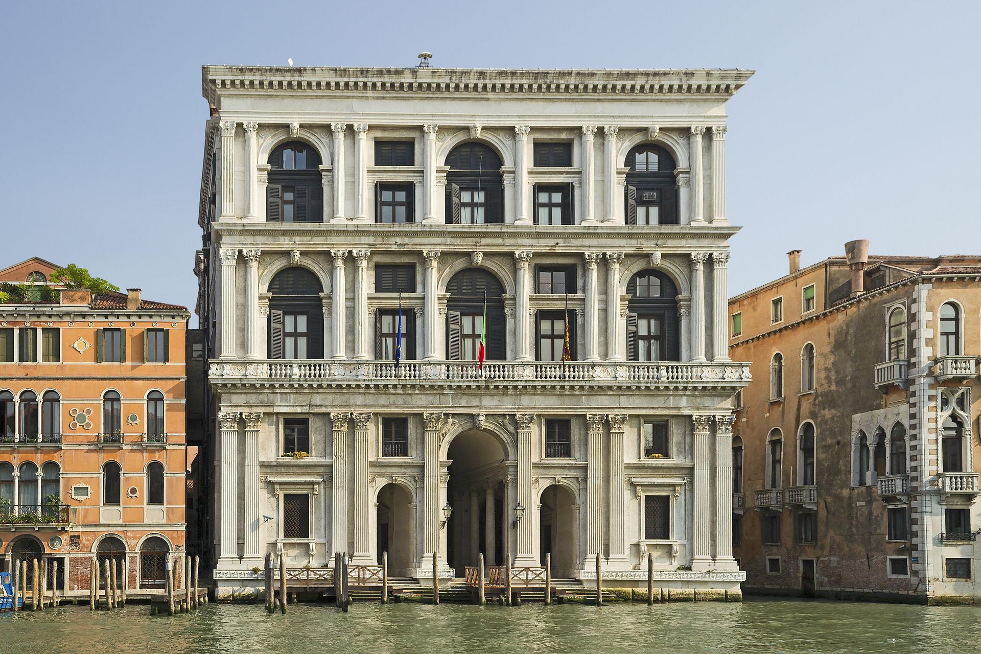 Palazzo corner of ca grande for Scuola sansovino venezia