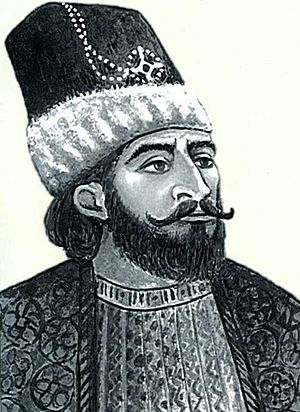 Panah Ali Khan - Modern illustration of Panah Ali Khan.