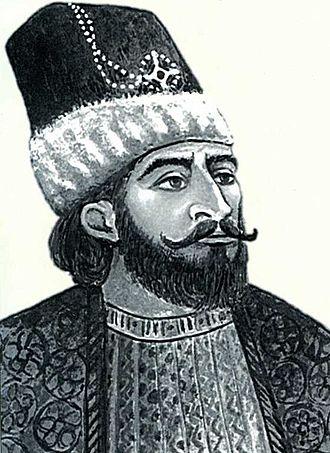 Panah Ali Khan - Modern illustration of Panah Ali Khan.