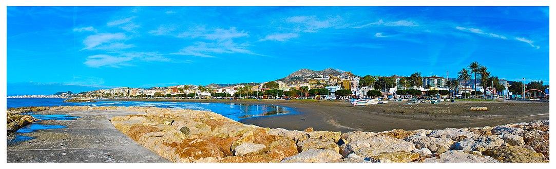 Panorama Malaga beach.jpg