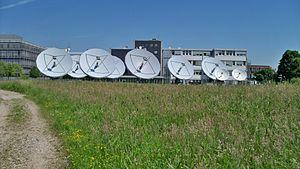 SES Astra - Parabolic antennas of ASTRA in Unterföhring