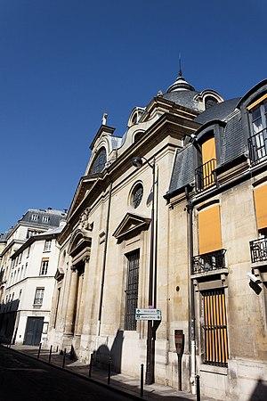 Pentemont Abbey - Image: Paris Abbaye de Penthemont 104 106 rue de Grenelle 002
