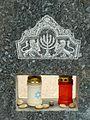Paris Cimetiere du Montparnasse Jewish symbols.JPG