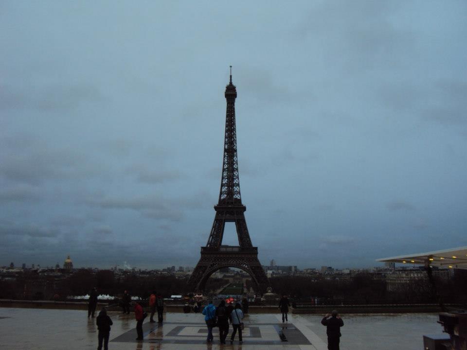 Paris Parvis des Droits de l'homme 20131001 Tour Eiffel