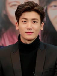 Park Hyung-sik in Hwarang Promotion in January 2017 02.png