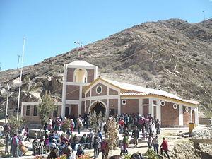 Palca District, Tacna - Church of Causuri near the village of Palca