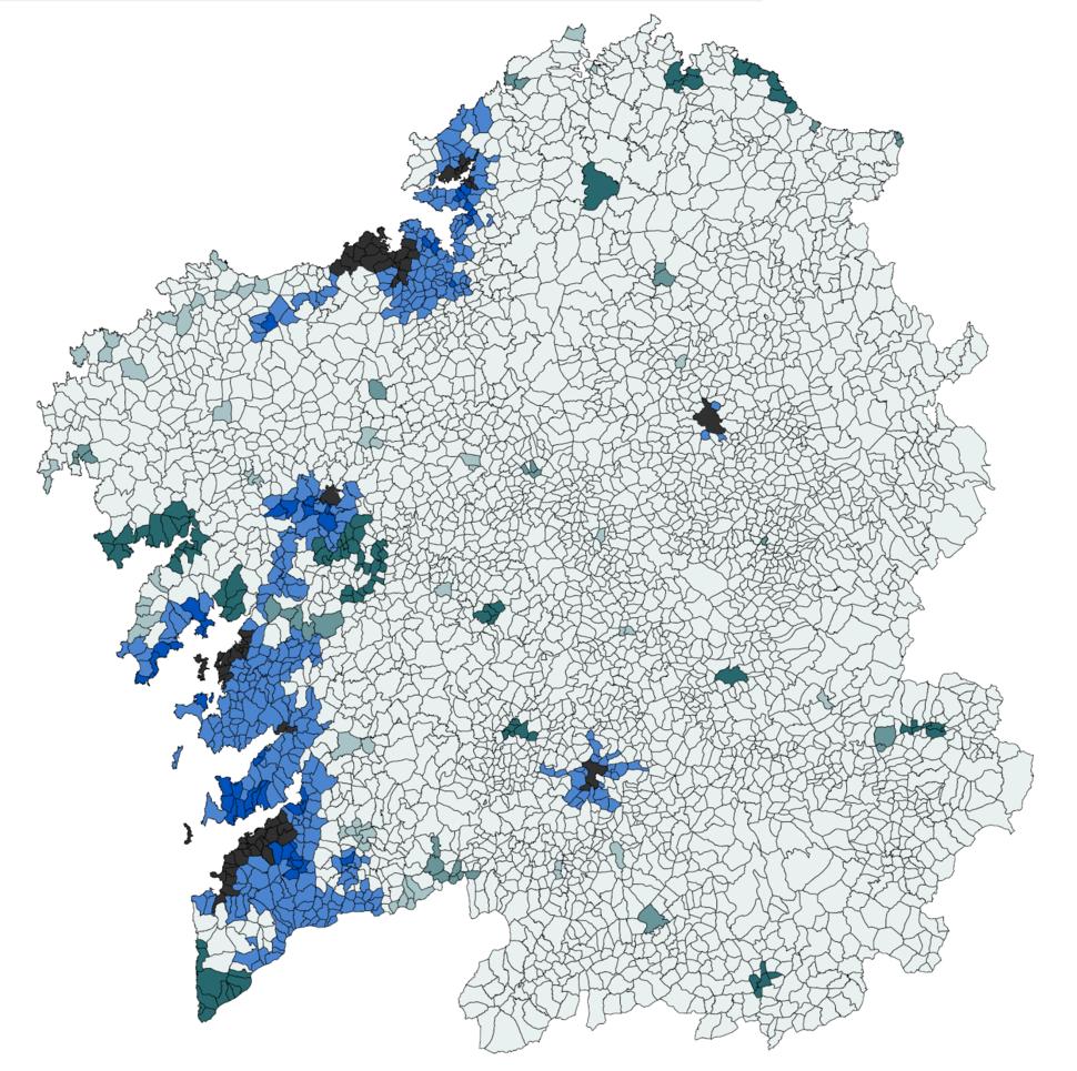 Parroquias de Galicia