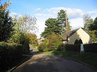 Deenethorpe Human settlement in England