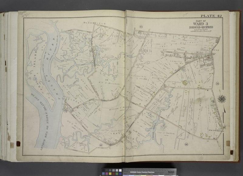File:Part of Ward 3. (Map bound by River Road (Water St), Chelsea Road, Bloomfield Ave (Decker Ave), Hughes Ave, Merrill Ave, Richmond Ave, Travis Ave (Union Ave), Fresh Kills, Richmond Turnpike, NYPL1646262.tiff