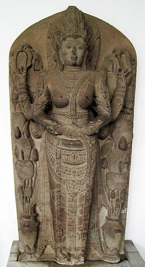 Tribhuwana Wijayatunggadewi - The statue of Tribhuwanottungadewi, queen of Majapahit, depicted as Parvati