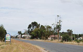 Patchewollock Town in Victoria, Australia