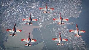 Patrulla Águila - Image: Patrulla Águila en SIAF y Airpower 2016 (28938668083)