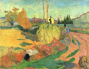 Landscape from Arles