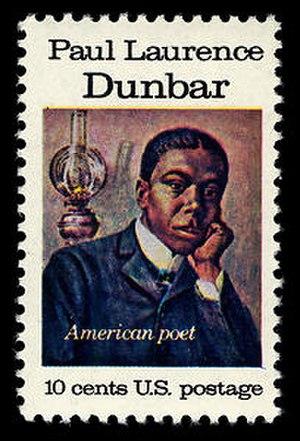 Paul Laurence Dunbar - Dunbar on 1975 U.S. postage stamp.