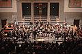 Pauluskirche Ulm Konzert Orchester vor dem zweiten Stück 2009 03 22.jpg