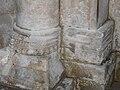 Paussac église pieds de colonnes.JPG
