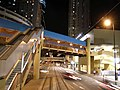 Pedestrian bridge over King's Road, Hong Kong.jpg