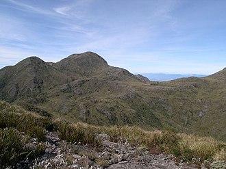 Brazilian Highlands - Pedra da Mina, a mountain in the state of São Paulo, in 1997.