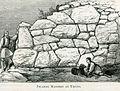 Pelasgic masonry at Tiryns - Mahaffy John Pentland - 1890.jpg