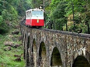 2010 in Malaysia - Penang Hill Railway.