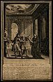 Personifications of Law, Medicine and Theology argue over th Wellcome V0007547.jpg